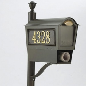 Whitehall Products Chalet Mailbox