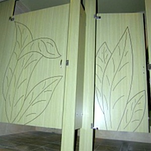 Custom Toilet Partitions Avallone Door Company - Custom bathroom partitions